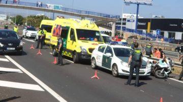 Un agente de la Guardia Civil ha fallecido en servicio en un accidente de tráfico