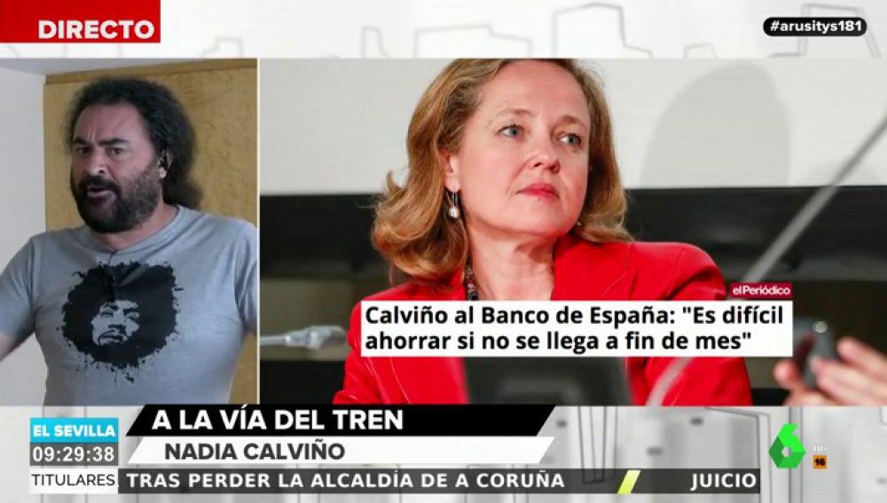 """El Sevilla estalla contra el Banco de España por pedir a los ciudadanos que ahorren dinero: """"Meteos la lengua en el culo"""""""