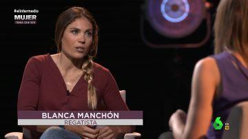 La regatista Blanca Manchón