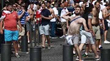 Hooligans ingleses