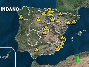 Estas son las zonas más contaminadas por lindano, un compuesto cancerígeno y que altera el sistema nervioso