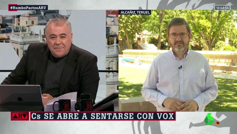 """El análisis de Ignacio Urquizu (PSOE) tras las elecciones: """"España es más de izquierdas, la extrema derecha lo tiene difícil en nuestro país"""""""