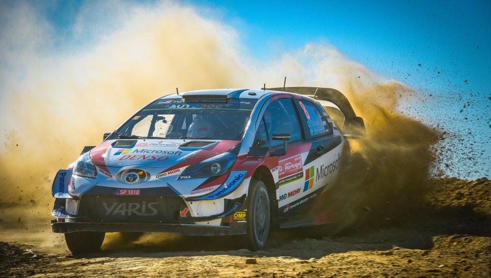 Portada Ott Tänak lidera el Rally de Portugal