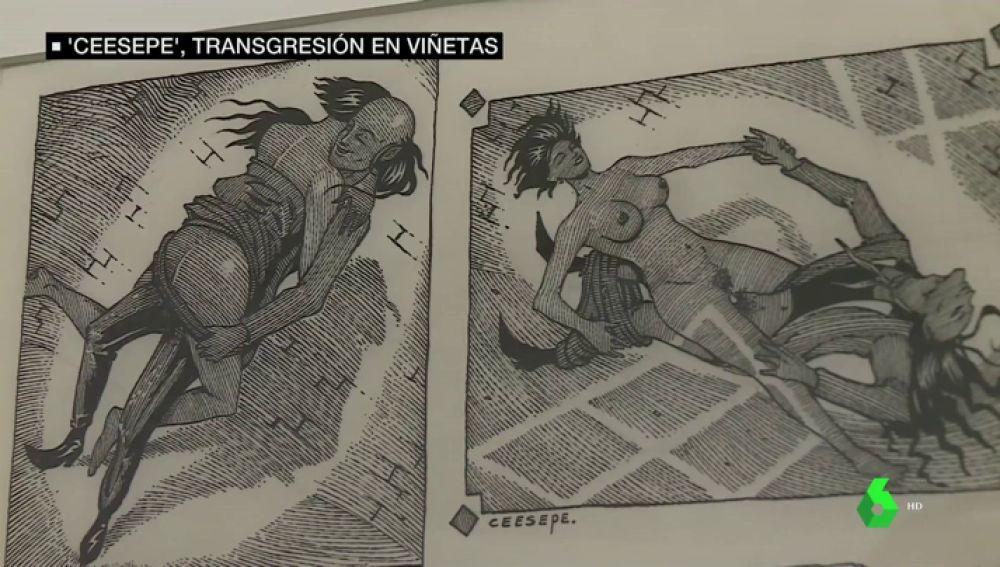 Contracultura y transgresión: las viñetas que repasan el arte políticamente incorrecto de Ceesepe