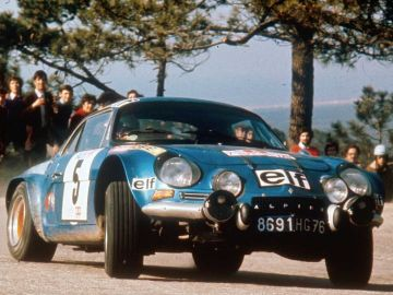 Jean Luc Therier en el Rally de Portugal de 1973