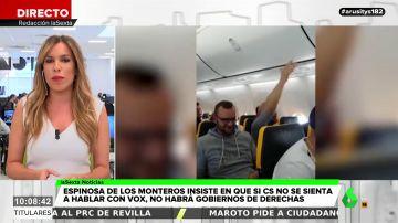 Un grupo de pasajeros alemanes corea cánticos nazis y racistas en un vuelo hacia Palma de Mallorca