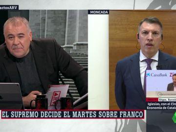 """Joaquim Bosch, sobre la exhumación de Franco: """"La petición de la familia no tiene fundamento legal ni democrático"""""""