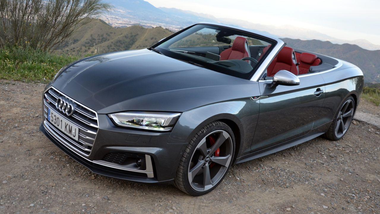 2021 Audi S5 Cabriolet Spy Shoot