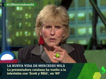 """La recomendación de Mercedes Milá a quien sufre una depresión: """"Lo importante es tener un diagnóstico"""""""
