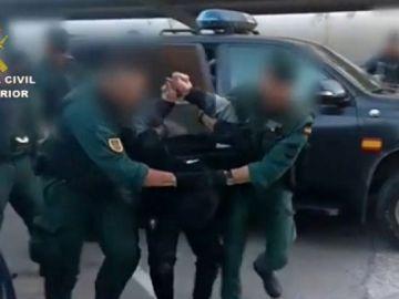 Detención de un narco en Algeciras