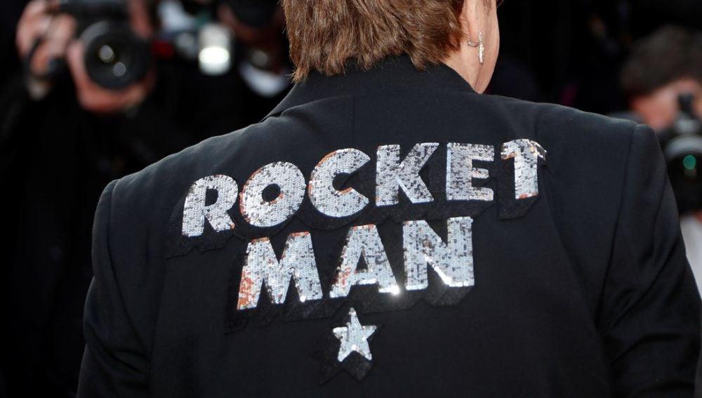 Imagen de Elton John en el estreno de 'Rocketman'