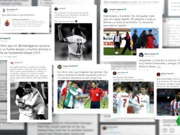 Condolencias en el mundo del deporte por la muerte de José Antonio Reyes