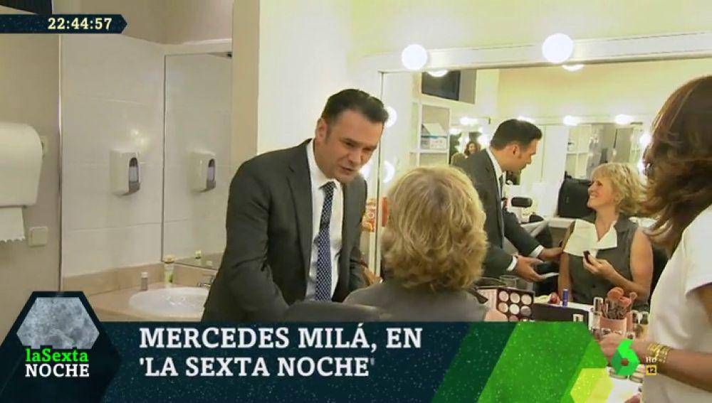 """El divertido 'tonteo' entre Mercedes Milá e Iñaki López en laSexta Noche: """"Oye, que sexy tío"""""""