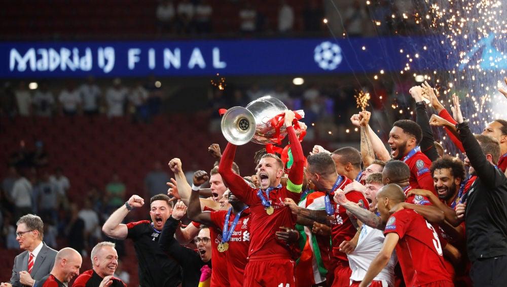 El Liverpool, campeón de la Champions