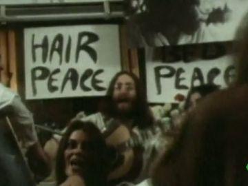 Cumple 50 años la canción 'Give peace a chance', el himno pacifista de John Lennon y Yoko Ono