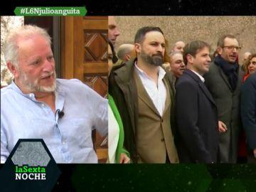 """Julio Anguita: """"La derecha es como la Santísima Trinidad, es una pero tiene tres manifestaciones distintas"""""""