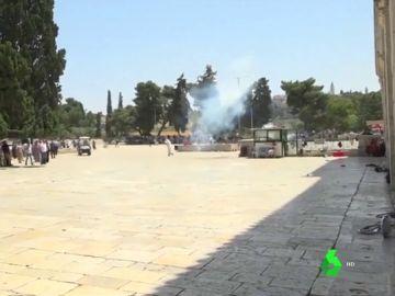 Más de 40 heridos tras disturbios en la Explanada de las Mezquitas en el día de la conquista de Jerusalén