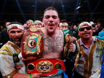 Ruiz Jr., tras ganar a Joshua