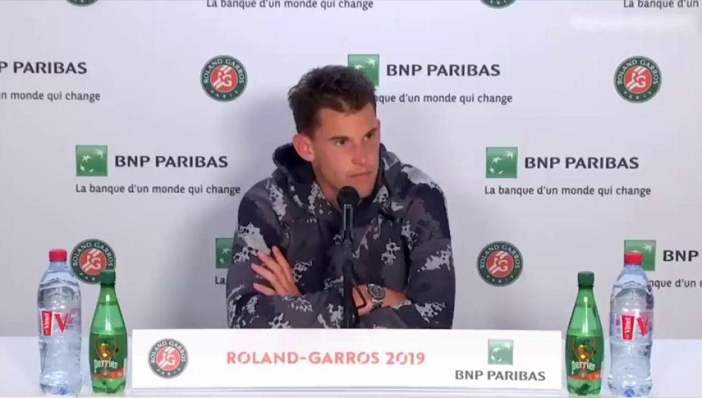 Serena Williams echa a Thiem de la sala de prensa: el austríaco se marchó cabreado