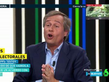 """Ana Pastor pone contra las cuerdas a Antonio González Terol (PP): """"¿Vox ya no es otra vez de ultraderecha?"""""""