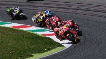 Carrera del GP de Italia