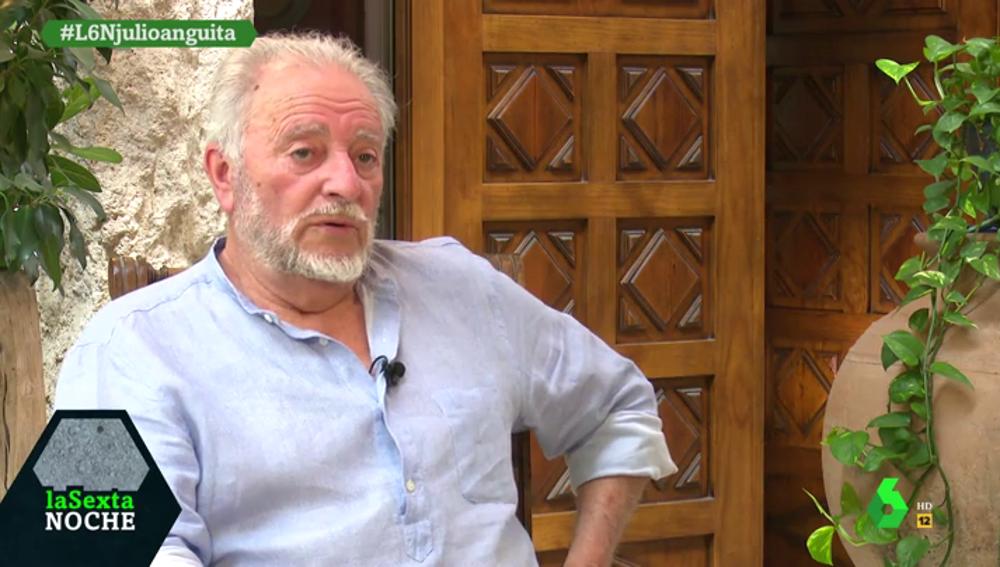 """Julio Anguita, sobre el rey Juan Carlos: """"Es un pícaro que podía cantar y le han buscado la salida de hacerle inviolable"""""""