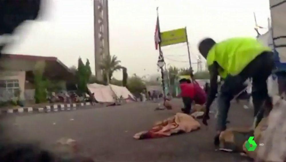 Al menos 30 muertos en Sudán después de que el ejercito disparase en un campamento de protesta