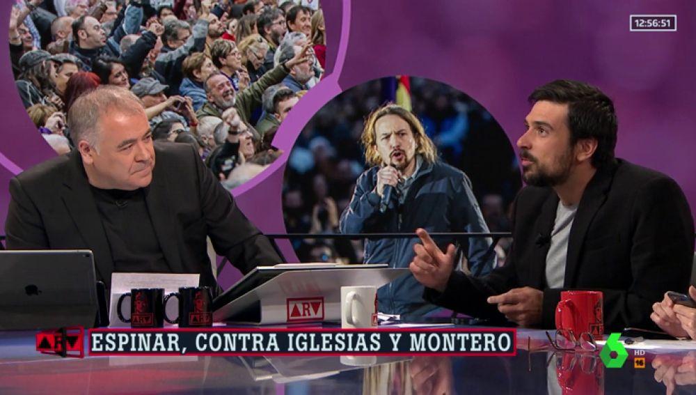"""Ramón Espinar desvela que dimitió porque """"Íñigo Errejón y Pablo Iglesias querían romper"""" el partido"""