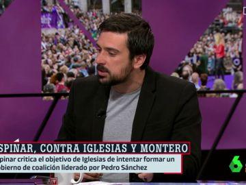 """Ramón Espinar: """"Podemos se ha roto en pedazos y eso necesita un tratamiento"""""""