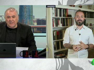 """Antonio Maestre responde a Abascal: """"Soy un activista del periodismo contra los racistas, homófobos, machistas y fascistas"""""""
