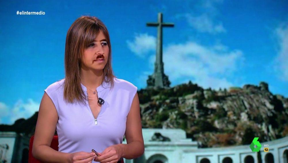 'Franco, la obsesión de Wyoming: ¡hasta Sandra Sabatés tiene bigote!'