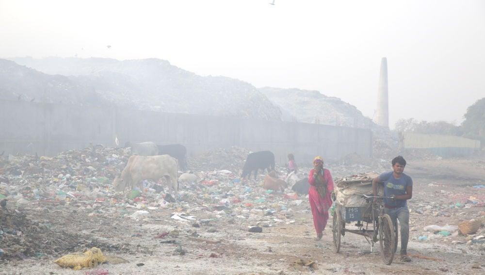 Amritsar (India). Los países asiáticos, los más afectados por la contaminación del aire.