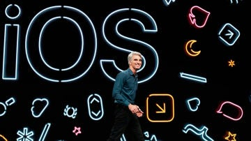 iOS 13 en la keynote de Apple