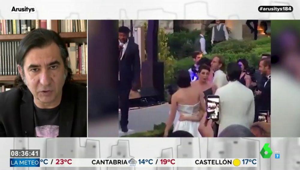 El análisis de Ángel Antonio Herrera sobre la boda de Carlota Casiraghi