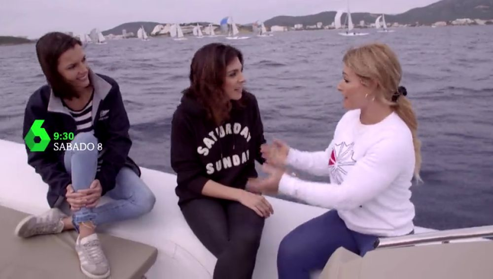 Lydia Valentín viaja a Mallorca con Viajeras con B