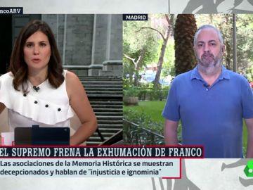 Emilio Silva, presidente de la Asociación para la Recuperación de la Memoria Histórica
