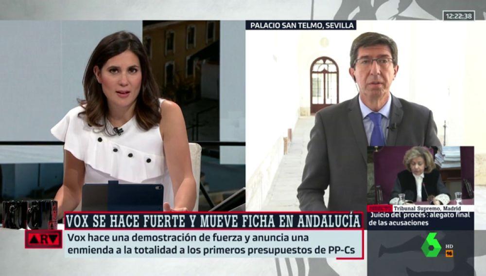 Juan Marín, vicepresidente de la Junta
