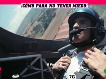 El sufrimiento de Marc Márquez subido al avión de Juan Velarde