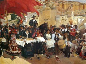 Castilla, la fiesta del pan