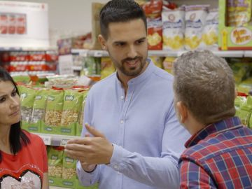 Alberto Chicote habla con un nutricionista