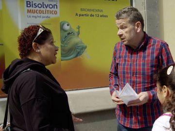 Alberto Chicote habla con una madre