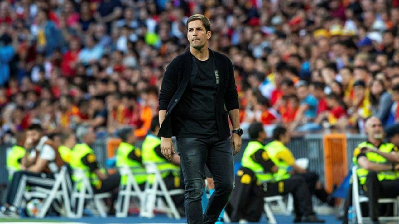 El seleccionador sustituto de Luis Enrique, Robert Moreno.