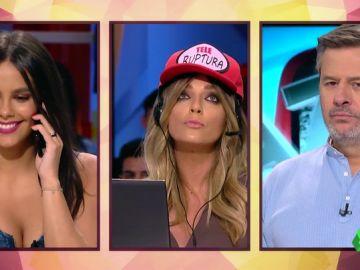 """Anna Simon y Cristina Pedroche se convierten en operadoras de 'Tele Ruptura': """"Rompemos con música de Luis Fonsi y excusas baratas"""""""