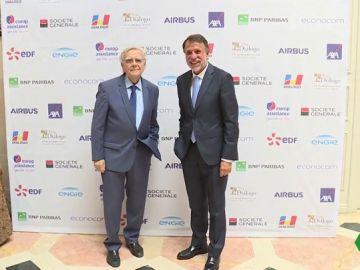 El premio Planeta y el premio Goncourt reciben el premio Diálogo