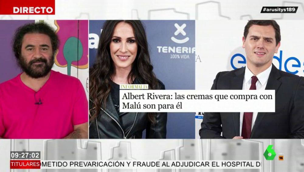 El análisis de El Sevilla sobre las primeras imágenes de Albert Rivera y Malú juntos