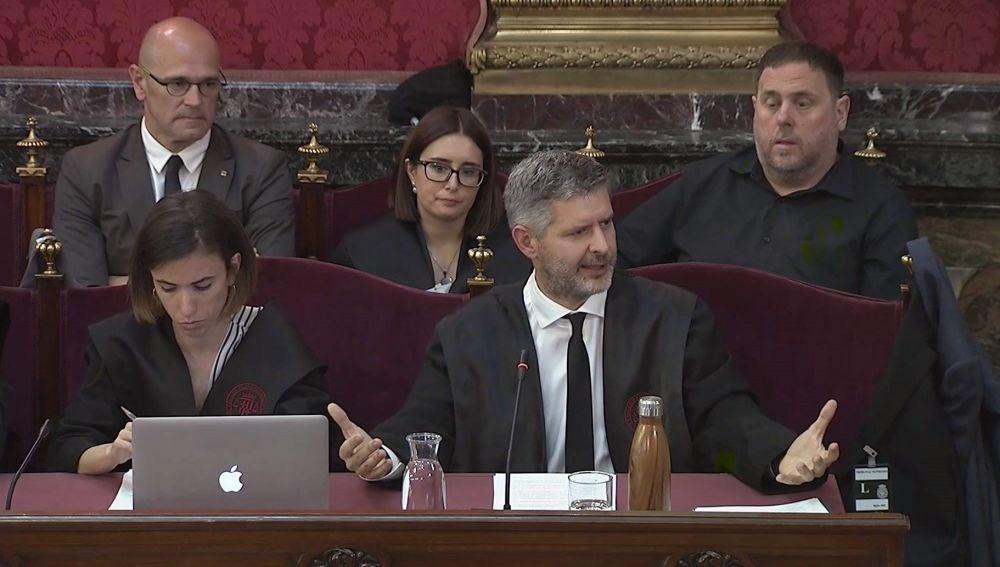 Imagen tomada de la señal institucional del Tribunal Supremo de Andreu Van Den Eynde