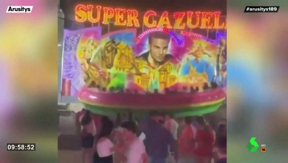 La atracción de feria que dejó 30 heridos en Sevilla