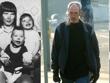Elsie Urry con sus pequeños asesinados (izqda) y David McGreavy (derecha)