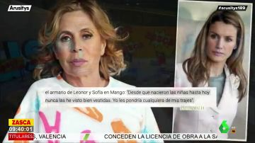 Ágatha Ruiz de la Prada critica a la reina Letizia