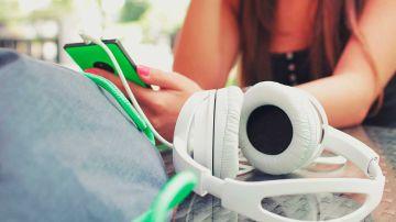 Cazando canciones de los auriculares
